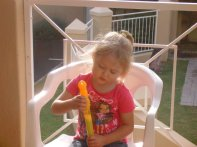 Trying to blow bubbles - days before op 2 June 2010