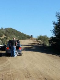 Tyre blow out in the middle of nowhere