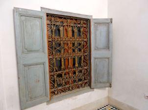 Window in the Palais Bahia, Marrakech