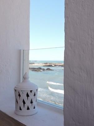 view from window in Essaouira