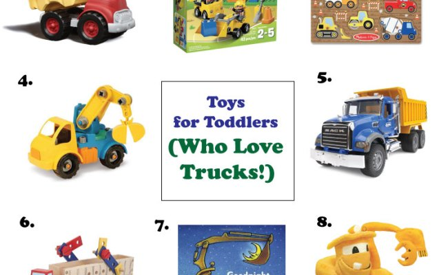 Toys For Toddlers Who Love Trucks Little Fish