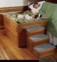 LittleFun - Bedside Platform Dog Bed