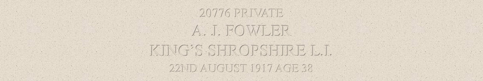 Arthur Fowler heading