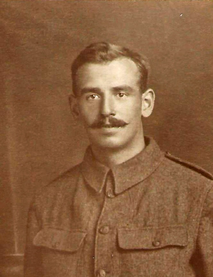 Photo of Bertie Gentle in uniform