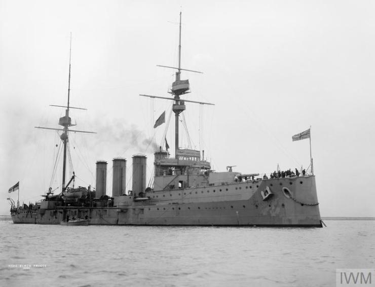Photo of HMS Black Prince