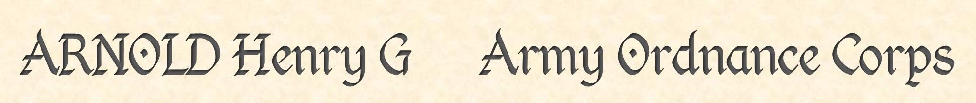 Henry Arnold header