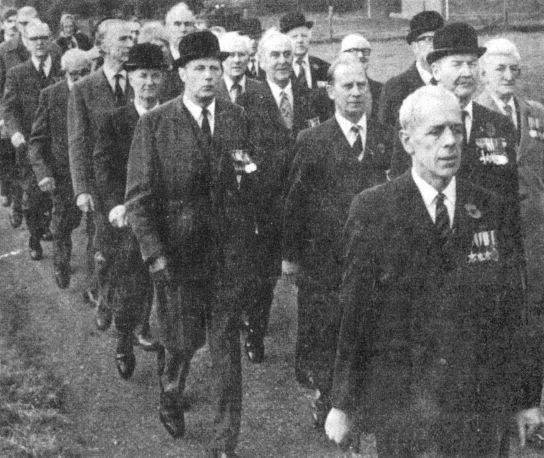 Photo of LG Royal British Legion March 1978