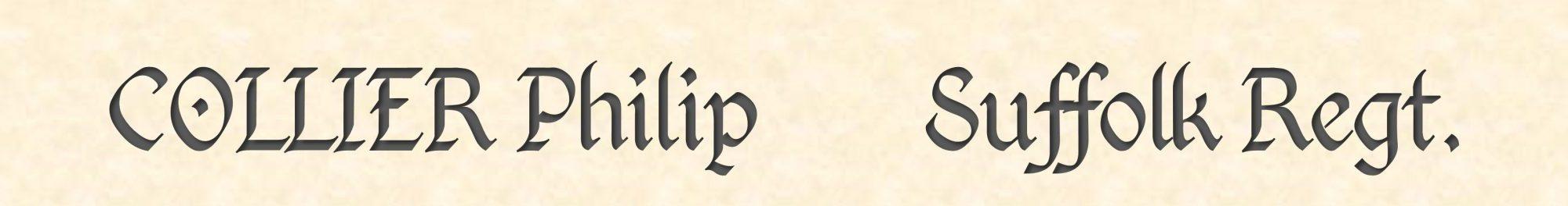 Philip Collier header