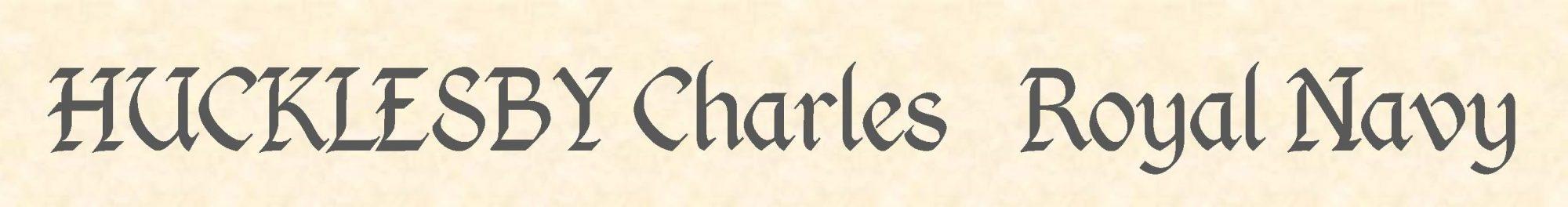 Charles Hucklesby header