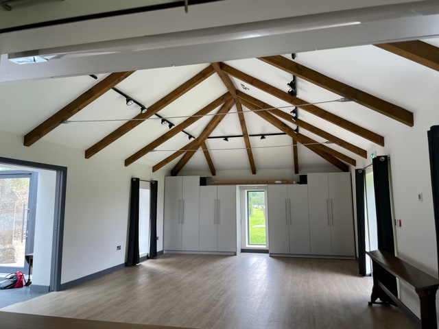 Photo of interior of hall