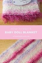 A Baby Doll Blanket