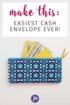 The Easiest DIY Cash Envelope System