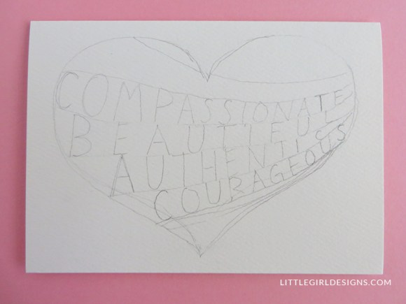 How to make a Truth Card - Learn how to create a beautiful card that will encourage a friend. (You can also make these for you! :))