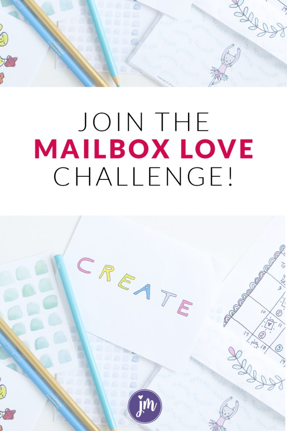 Get back into your letter writing groove with this fun mailbox love challenge! You'll receive a printable calendar and stationery when you join!