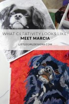 Marcia's quilts are incredible! Come read a bit about her process and what creativity looks like for her.