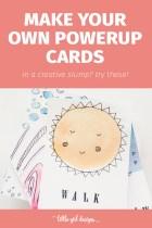 Make Your Own Artist Powerup Rewards Cards