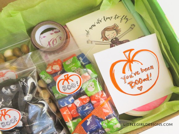 """I'm taking the """"You've Been Booed!"""" idea and sending it off in the mail to my friend this year. Such a sweet idea! I know it's going to make her day. :) #ad"""