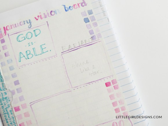 I like to keep my bullet journal simple and sweet, with enough inspiration to get me through the year (without making me feel like I have to decorate each page.) Here are my layouts for the coming year with some thoughts and resources I'll be using for goal tracking, etc.
