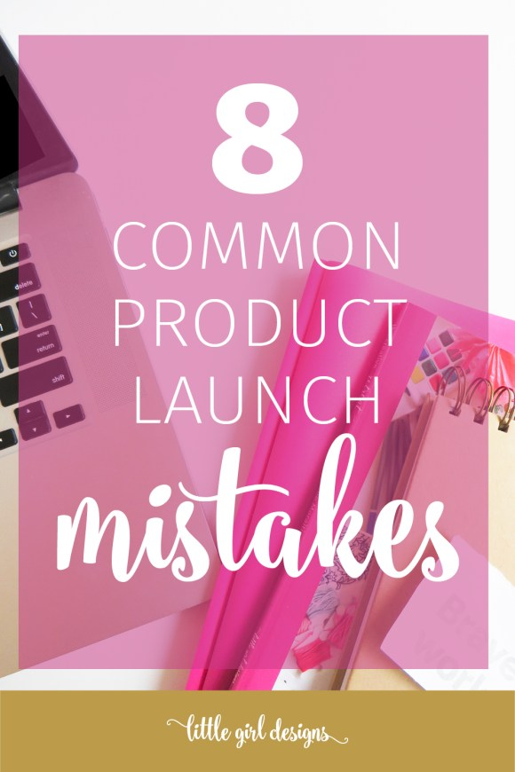 Do you want to launch a product? Don't make these mistakes! If you're a blogger who wants to make money online, you might be thinking about launching a product. This post will help you build a launch strategy that truly works for you!