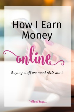 I love to shop online so this is perfect for me! I didn't realize I could actually earn money back by doing this.