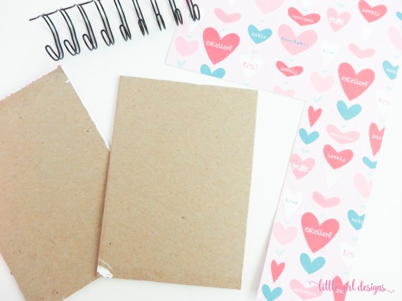 Assemble the supplies you will need to make your own sketchbook. This project is simple enough for beginners.