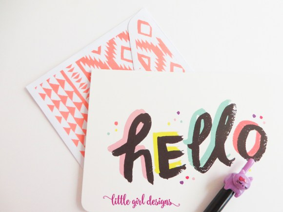 You don't have to have fancy cards to write thank you notes. Pick up stationery at Target's One Spot and get inspired to write!