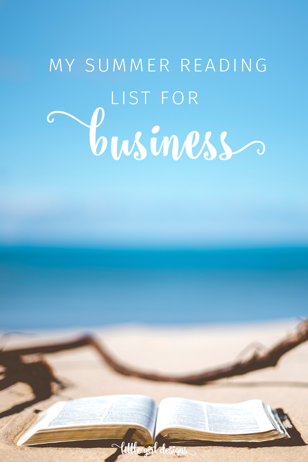 What a great list of books for your business! I need to read these as I want to grow my blog and online business this year. I especially appreciate that this summer reading list is not niche-specific and is more leadership and wealth-building based. Great resource!