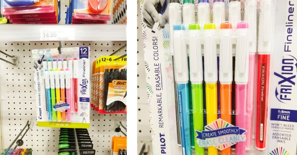 Try these cute FriXion Fineliner pens from Target! They're great for happy journaling, art journaling, and doodling! #ad #PilotPenBackToSchool #PowerToThePen #CollectiveBias @Target @pilotpenUSA