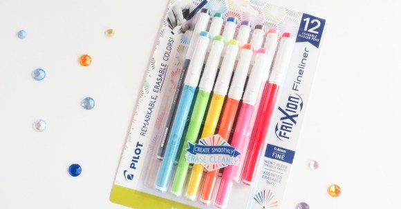 The Frixion Fineliner pens from Pilot Pen are new to me, but oh my goodness, I am hooked! I am using them for everything now...happy journaling, grocery lists, to do lists, notes to friends. LOVE. #ad #PilotPenBackToSchool #PowerToThePen #CollectiveBias Here is the 18 pack of G2 pens from Pilot Pen. They are so much fun to play with—I'm definitely a fan. #ad #PilotPenBackToSchool #PowerToThePen #CollectiveBias @Target @pilotpenUSA