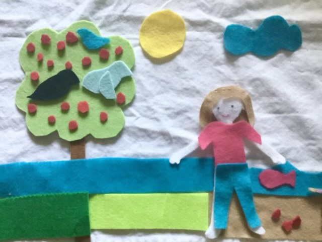 Create opportunities for your child to create without a lot of cleanup and mess. This is what I've done for years! :)