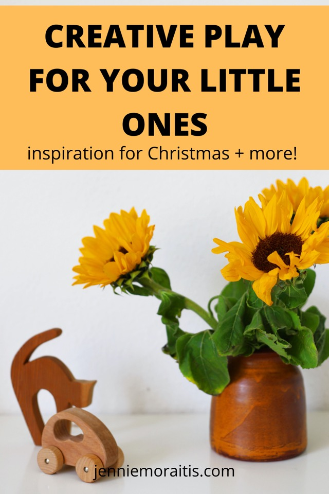 I love making and buying creative toys for my kiddo. It's so fun to see her imagination soar. In this post, I'm sharing about the super easy nativity scene we made this year plus a shop that I've fallen in love with for their creative toys for kids! A must for birthdays, Christmas, you name it!