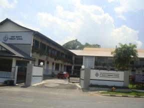 Kuching - My Old School at Tabuan Rd
