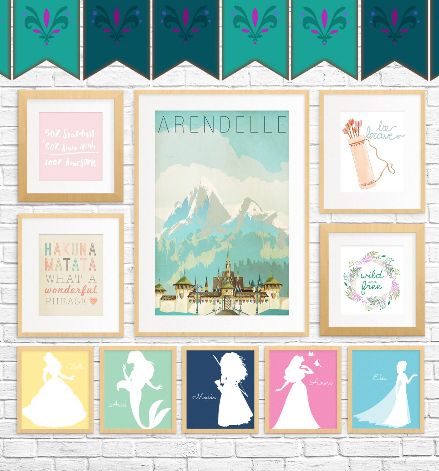 20 Free Fairy Tale Printables For Kids Rooms Little