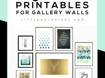 Free Printables To Hang On Your Gallery Walls ...