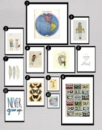 Roundup: Free Printables for Gallery Walls  Little Gold Pixel