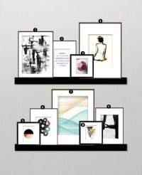 How to Create a Minimalist Gallery Wall  Little Gold Pixel