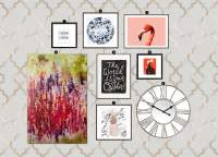 How to Create a Modern Glam Gallery Wall  Little Gold Pixel