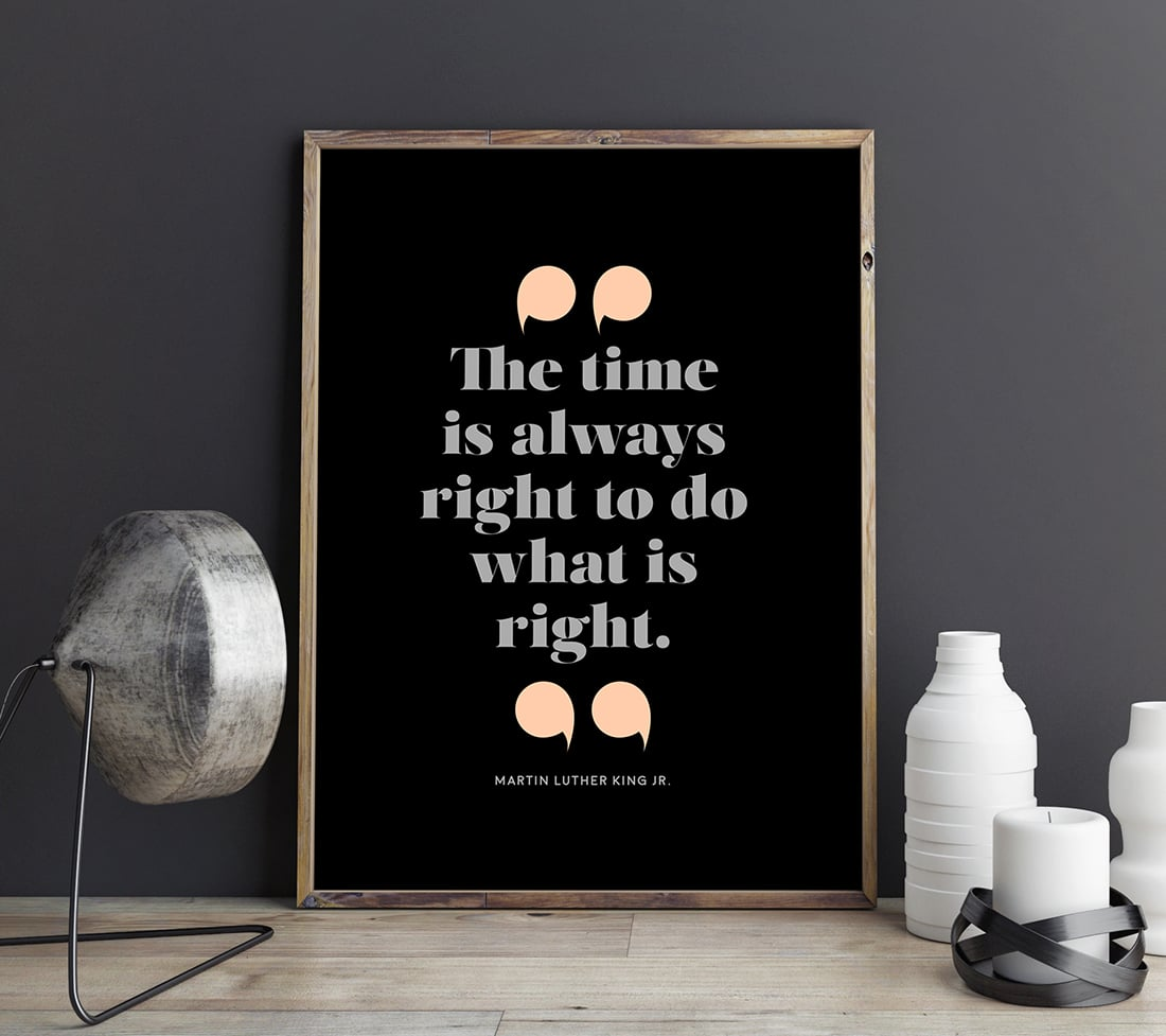 Martin Luther King Jr Quote Free Printable Little