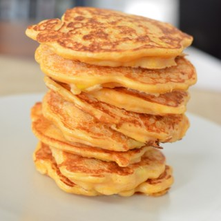 Butternut Squash and Sweetcorn Pancakes