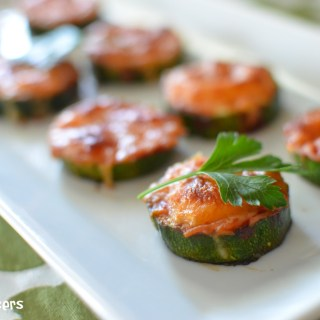 Mini Courgette Pizzas