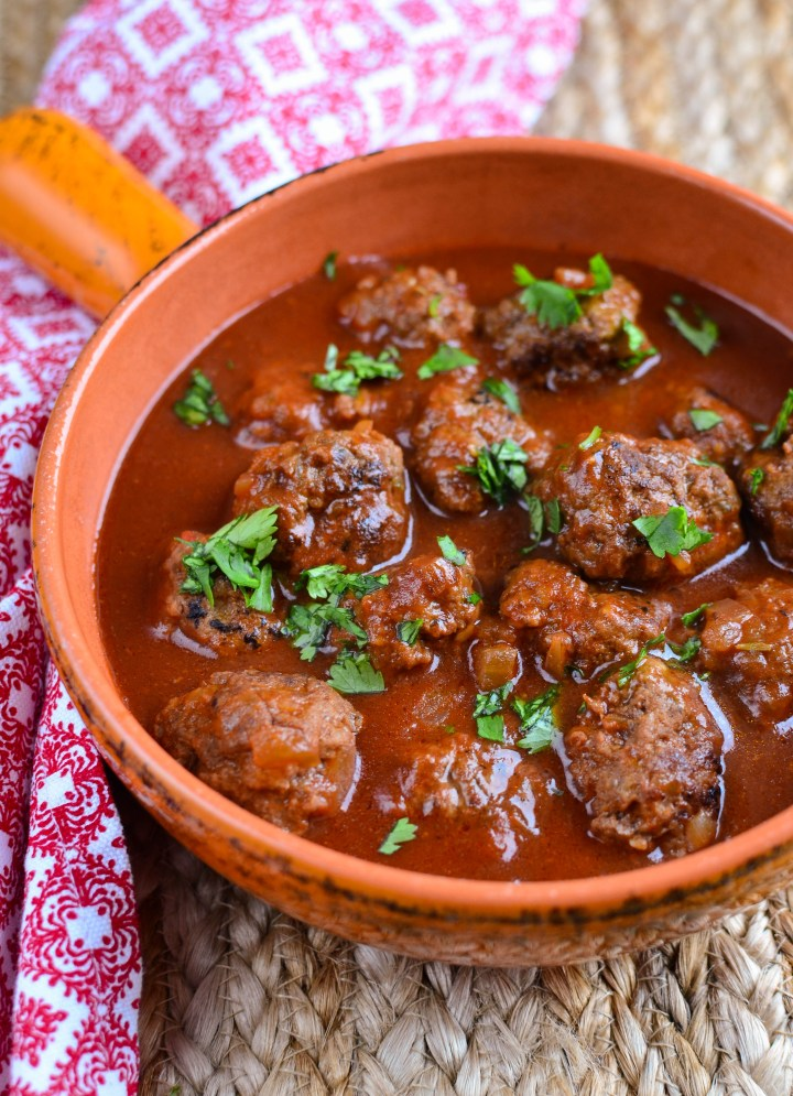 Little Grazers Meatballs in Tomato Maple Sauce - gluten free, dairy free, blw, baby led weaning, fussy eaters