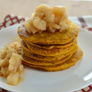 Little Grazers Fluffy Pumpkin Oatmeal Pancakes - blw, baby led weaning, finger foods, family meals, kids meals, fussy eaters, gluten free, dairy free