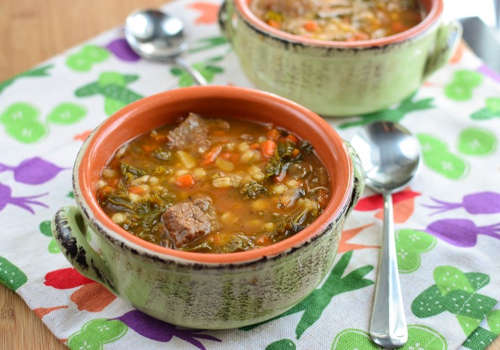 Little Grazers Beef and Barley Stew - blw, baby led weaning, kids meals, family meals, fussy eaters