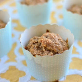 12 Grain Banana and Pear bread muffins