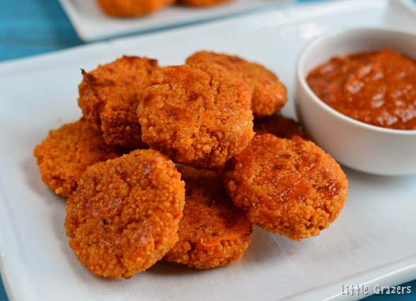 Little Grazers Cheesy Couscous Bites - blw, baby led weaning, egg free, finger foods, fussy eaters, kids meals, family meals