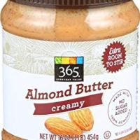 365 Everyday Value, Creamy Almond Butter, 16 oz