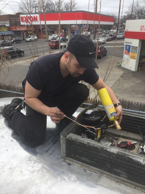 Repairing a Vintage Airstream A/C (Part 3): Replacing Parts