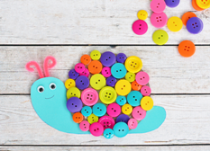 Button-Snail-Crafts-for-kids