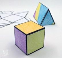 Foldable-3d-shapes