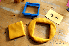 learning-about-squares-with-play-dough